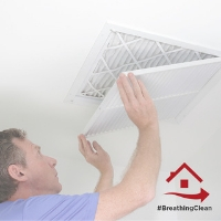 change air filters to improve indoor air quality