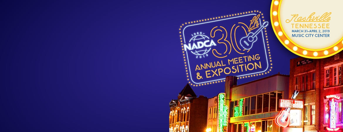 NADCA 30th Annual Meeting Slider