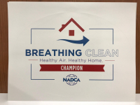 Breathing Clean Sticker