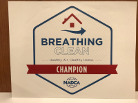 Breathing Clean Sticker - Diamond